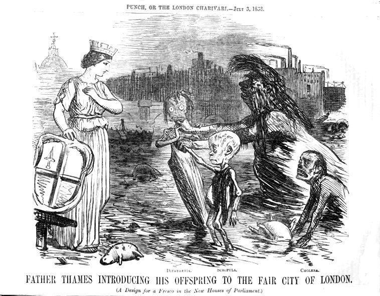 The Great Stink provoked shame and outrage among Londoners